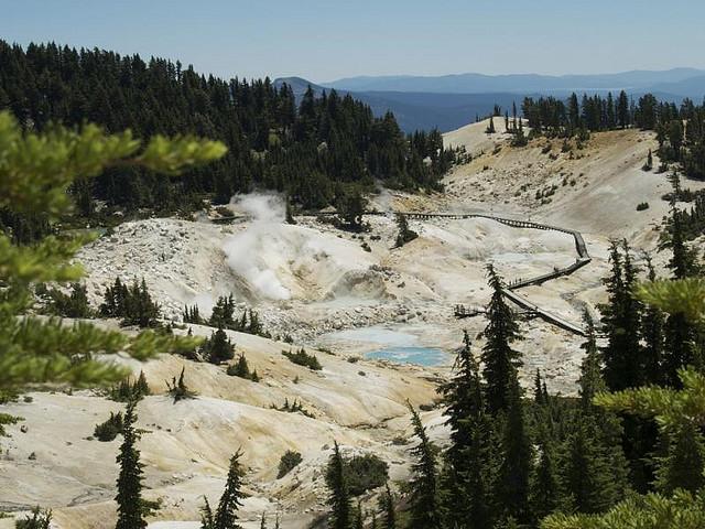 Bumpass Hell en Lassen Volcanic Park