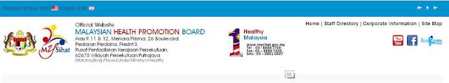 Rasmi - Jawatan Kosong (MySihat) Lembaga Promosi Kesihatan Malaysia 2019