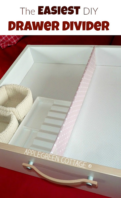Do you want to optimize the storage space AND keep those tiny items in your drawer nicely organized? Make simple drawer dividers that will cost you nothing else but a few minutes of your time and a piece of cardboard to be reused instead of thrown away. Here's how.