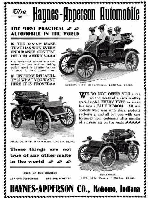 haynes apperson automobile