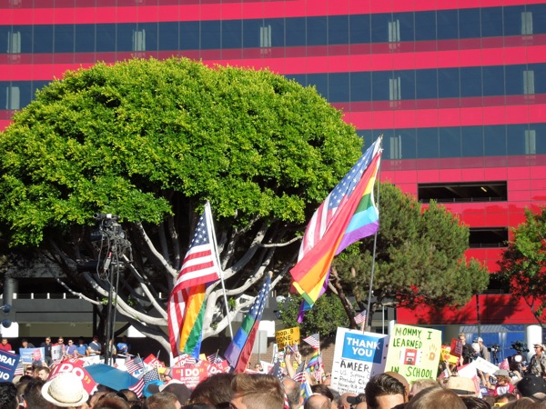 DOMA Prop 8 victory rally WEHO