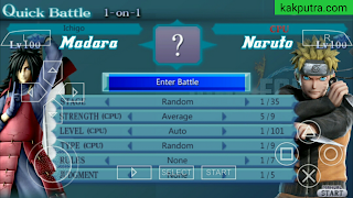 Cara Download Dissidia012 PPSSPP Mod (Naruto Jump Force) Offline di Android