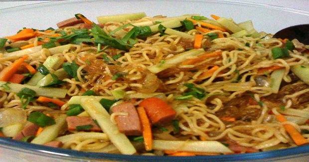 Pansit Bisaya ( Bam-e ) Recipe