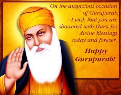 Guru Nanak Dev Ji Gurpurab Image