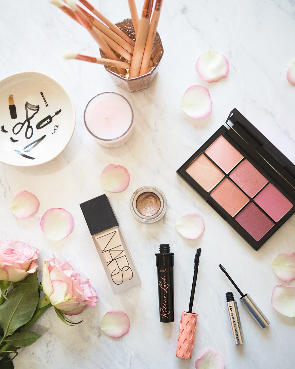 A Five Product Face. Effortless Makeup Products.