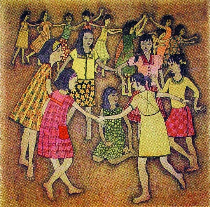 Sejarah Seni Lukis Dan Contoh Karya Seni Lukis Indonesia