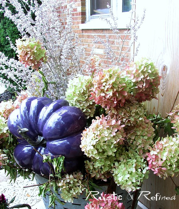 Crab Pot decorating ideas for Fall or Autumn