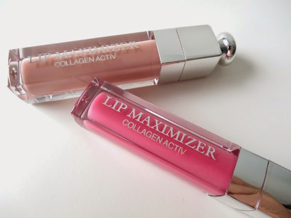 Dior Addict Lip Maximizer in Pink Sunset and Beige Sunrise