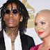 """Amber Rose mostra apoio ao novo álbum """"Rolling Papers 2"""" do Wiz Khalifa"""
