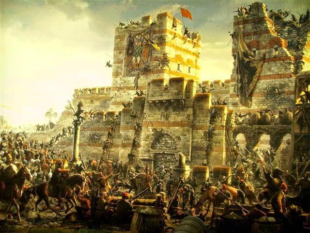 Abu Ayyub di Tembok Konstatinopel