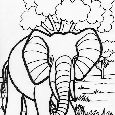 HD Coloring Pages For Adults Henna Elephant Images