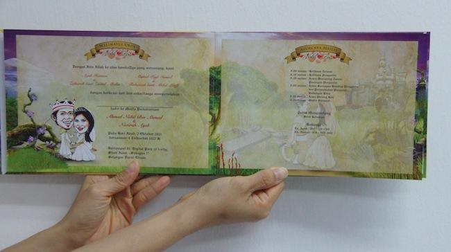 Kiz Wedding Koleksi Kad Kahwin Artis Yang Paling Glamour