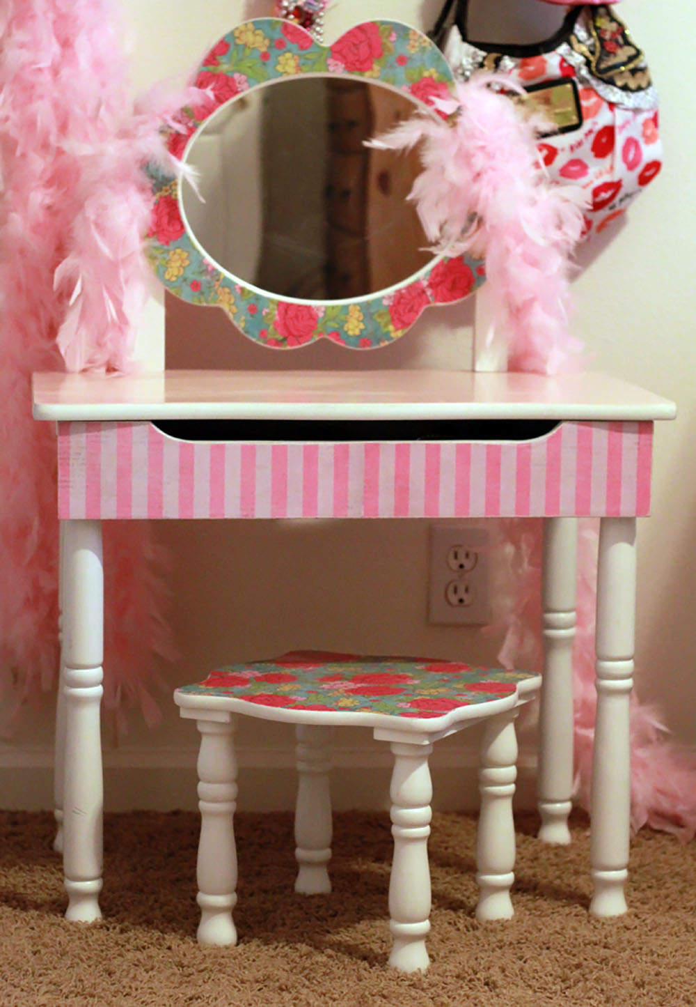 The Sassy Pepper Mod Podge Furniture Tutorial Gasp
