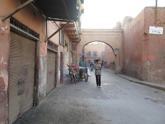 Mellah (Barrio Judío) de Marrakech
