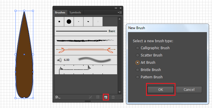 Hướng dẫn tạo nét Brush mới trong Illustrator  Tài liệu hoc Illustrator