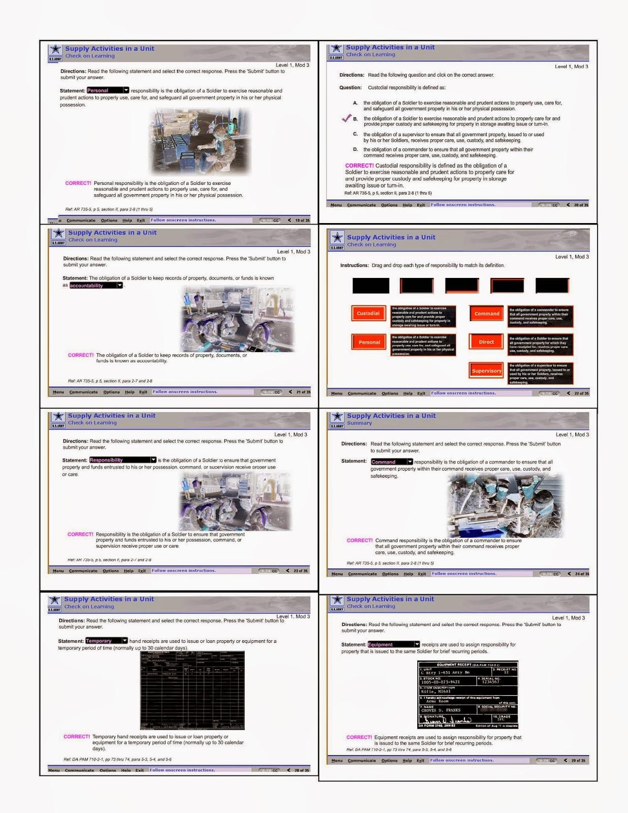 SSD Army Module #3 | My Army Ish