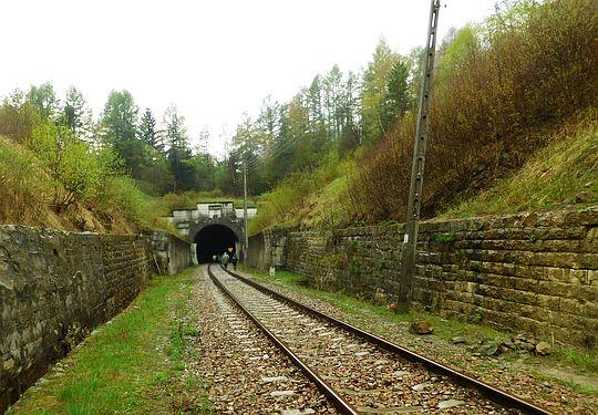 Tunel w Łupkowie od strony polskiej.