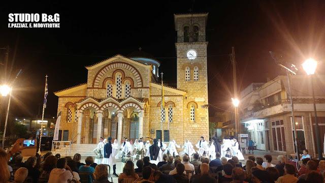 """Βραδιά παραδοσιακών χορών στην Αγία Τριάδα στα πλαίσια του φεστιβάλ """"Δρόμοι Πολιτισμού Αργολίδας"""""""