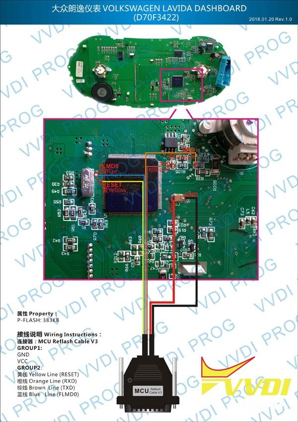 VAG Lavida Dashboard (D70F3422)