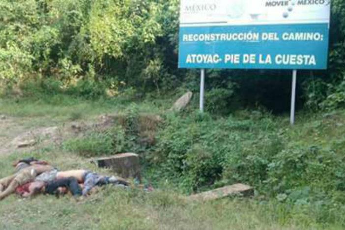 En festejo de Navidad ejecutan a siete en la Sierra de Guerrero