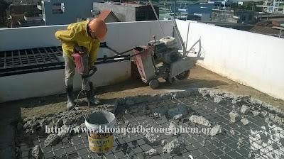 khoan cắt bê tông huyện Hóc Môn 2