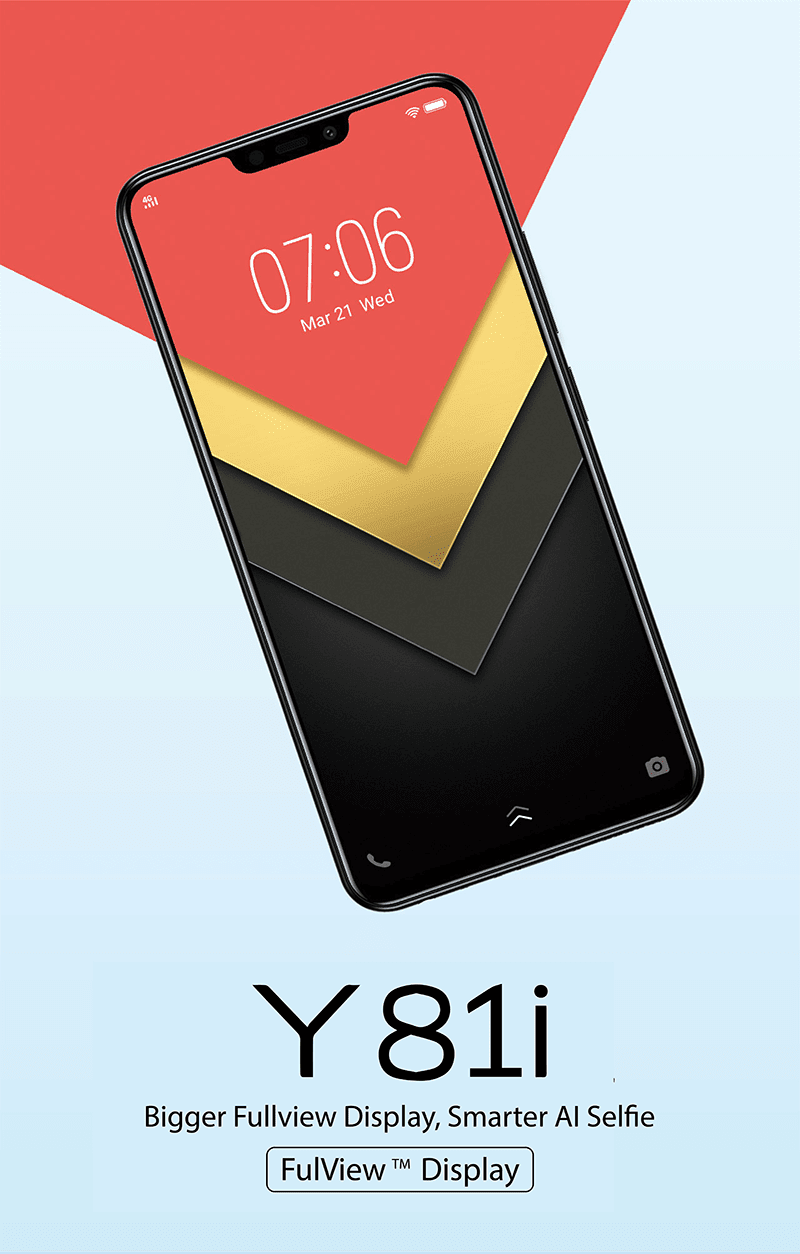 Vivo Y81i with 6.22-inch notched screen and MT6761 processor is now in the Philippines!