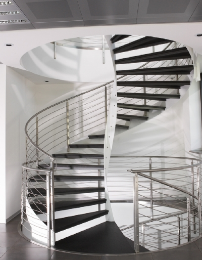 Attractive If A Massive Spiral Staircase Is What You Need, It Can Be Accomplished As  Well. The Wide Stairs Assure You That You Can Move Large Objects On Them  Without ...