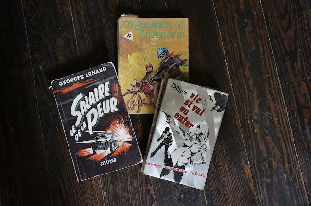 50s 70s books le salaire de la peur livre