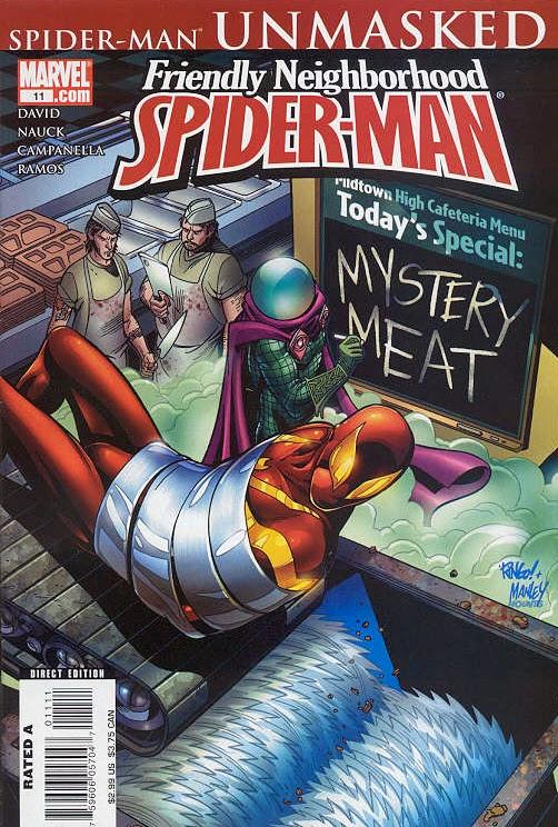 SPIDER-MAN UNMASKED (part 2, 2006) | The Marvel Comics Guide