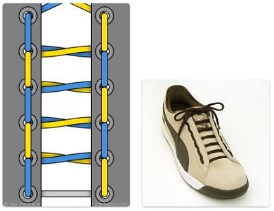 cara mengikat tali sepatu nike air max