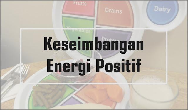keseimbangan energi positif