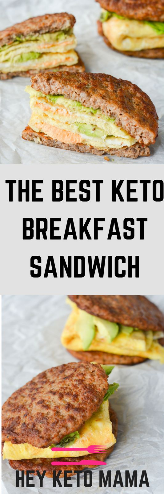 THE BEST KETO BREAKFAST SANDWICH