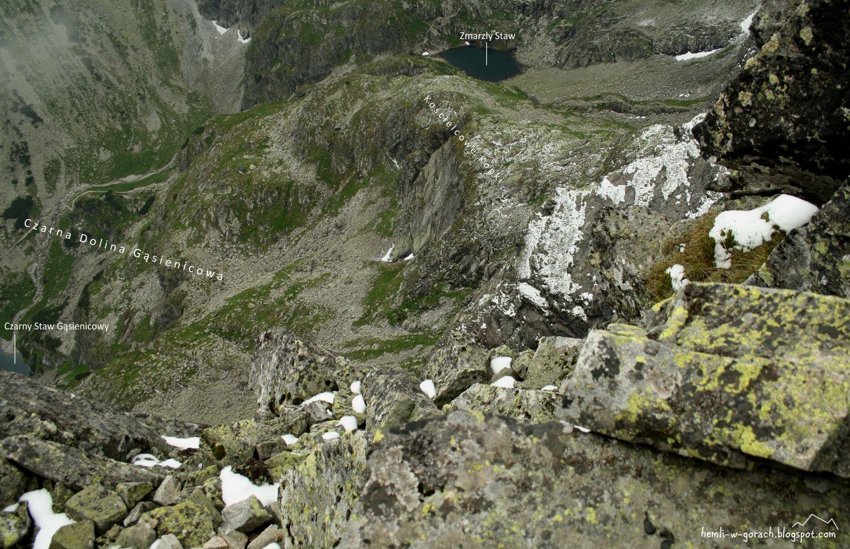 Kościelec - panorama