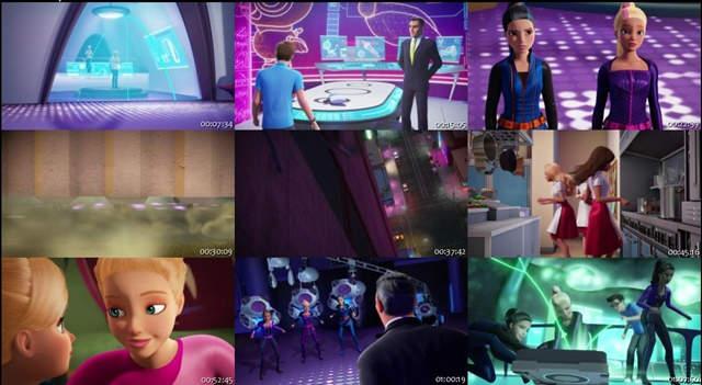 Barbie Equipo De Espías (2016) DVDRip Latino