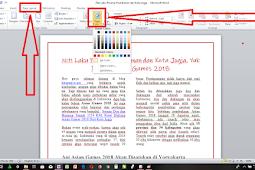 Cara Membuat Halaman Dengan Background Berwarna di Microsoft Word