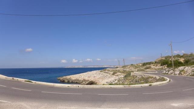 Viagem de carro de Marselha à Nice ou de Nice à Marselha