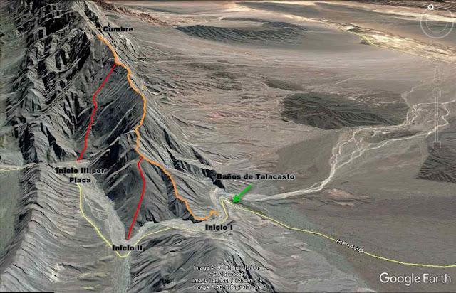 Trekking, cerro sapo, san juan, ullum, talacasto, variables, informacion, dificultad
