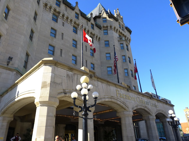 Das Fairmont Chateau Laurier Hotel ist eines der Markenzeichen Ottawas.