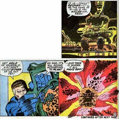 Fantastic Four 107 Buscema