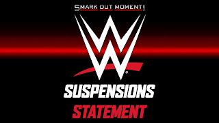 WWE wellness policy violations and suspensions