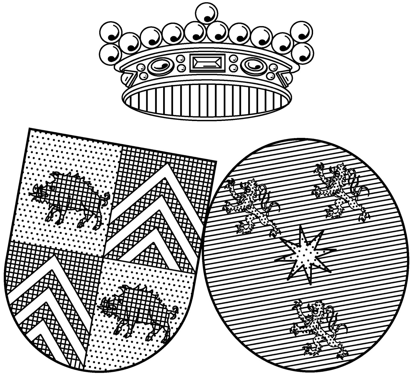 Ex-libris de la Famille van de Werve de Schilde.