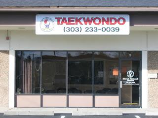 The front of the Golden Colorado Taekwondo Institute martial arts school