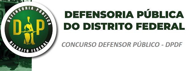 Defensoria Pública-DF. divulga edital de concurso para Defensor Público.