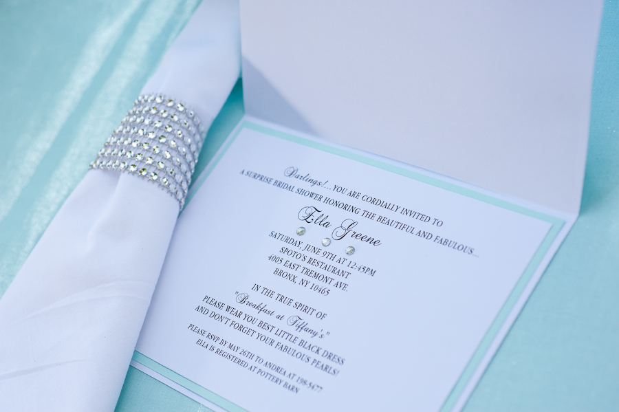 GUEST POST} tiffany's bridal shower - Creative Juice