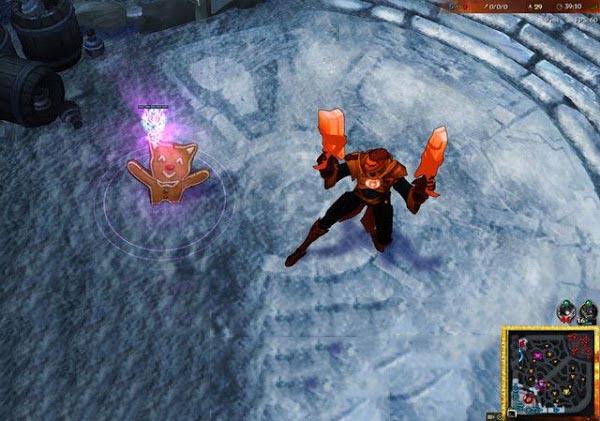 Mod Skin Lucian Red Lantern