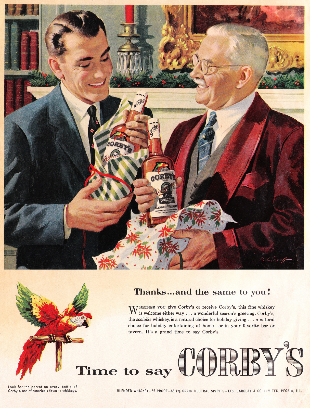 Saved From The Paper Drive: Old Christmas Ads (part 1)