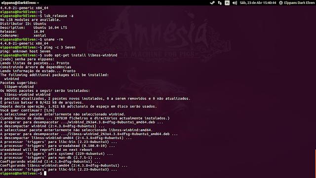 Configuração resolução de nomes ubuntu 16.04