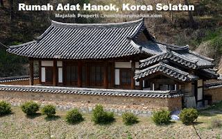 Desain Bentuk Rumah Adat Hanok dan Penjelasannya, Rumah Adat Korea Selatan