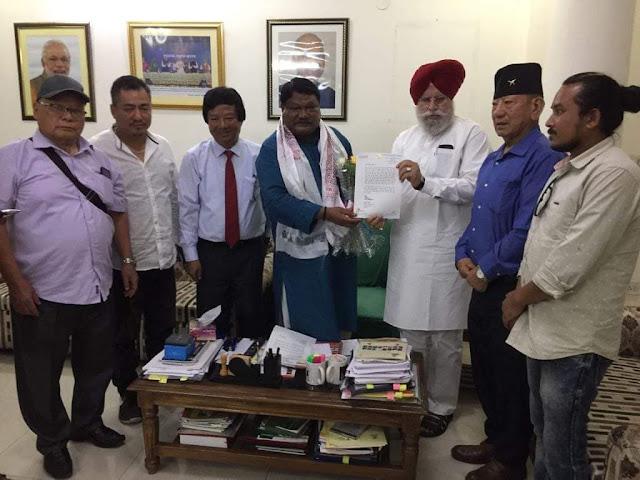 Gorkha Janmukti Morcha Bimal team invited by Home Ministry