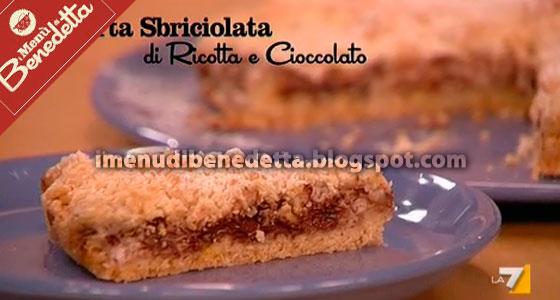 Torta Sbriciolata Ricotta E Cioccolato La Ricetta Di Benedetta Parodi